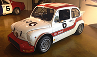 Fiat Abarth at Canepa Design