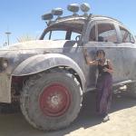Big Fucking VW Beetle