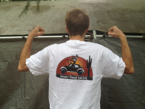 Buy a Desert Dingo Racing t-shirt